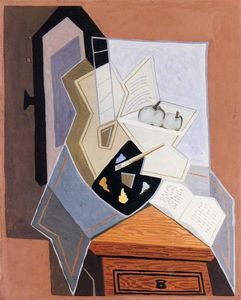 Juan Gris - natureza no aberto `windowq`