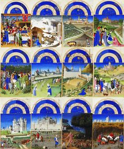 Limbourg Brothers - Trabalhos dos meses