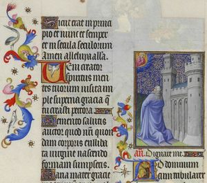 Limbourg Brothers - Salmo CXIX