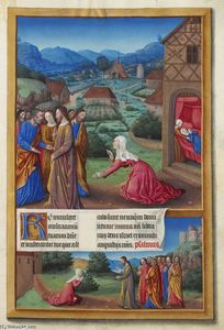 Limbourg Brothers - A mulher cananéia