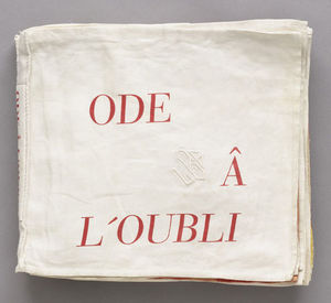 Louise Joséphine Bourgeois - Ode ao Forgotten