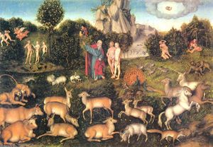 Lucas Cranach The Elder - Paraíso