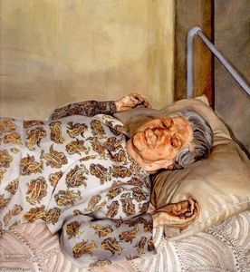 Lucian Freud - o `painter-s` mãe repouso i