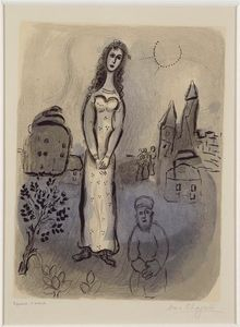 Marc Chagall - Esther