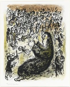 Marc Chagall - Jeremias