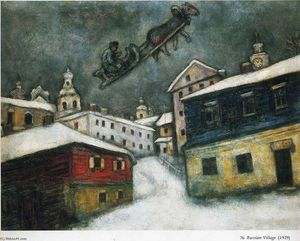 Marc Chagall - russo aldeia