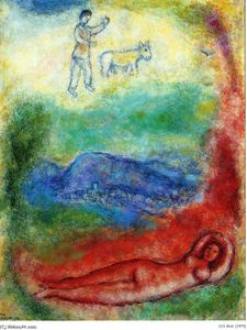 Marc Chagall - descanso
