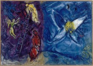 Marc Chagall - O sonho do Jacob