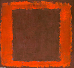 Mark Rothko (Marcus Rothkowitz) - mural sem título para parede final