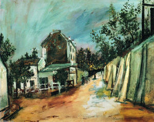 Maurice Utrillo - Saint-Vincent stree eo Lapin Agile