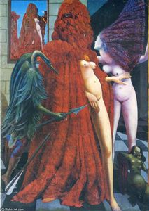 Max Ernst - O Robing of the Bride