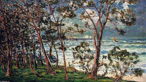 Maxime Emile Louis Maufra - The Shore at Duarnenez