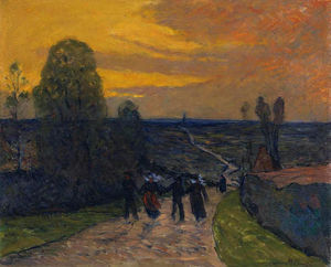Maxime Emile Louis Maufra - null a caminho
