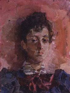 Mikhail Vrubel - Retrato of M . V . Yakunchikova