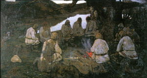 Nicholas Roerich - Elders Gathering