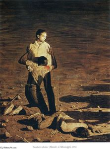 Norman Rockwell - Do sul Justice ( murder in mississippi )