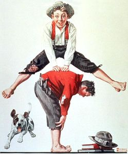 Norman Rockwell - Salto