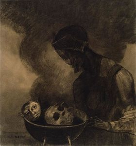 Odilon Redon - Caldeirão do Sorceress