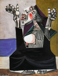 Pablo Picasso - o Implorando