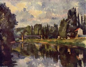 Paul Cezanne - Ponte over marne