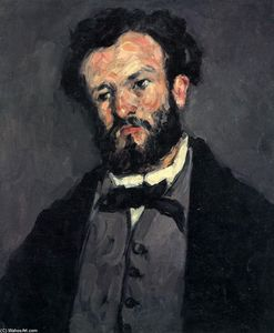 Paul Cezanne - Retrato de Anthony Valabrègue