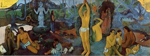 Paul Gauguin - where do we vem . o que somos . para onde estamos indo .