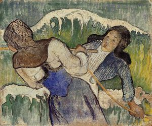 Paul Gauguin - Coletores de algas