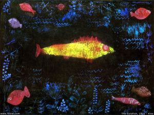 Paul Klee - O Goldfish