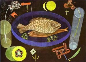 Paul Klee - Aroundfish