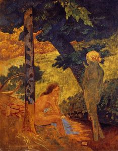 Paul Serusier - banhistas