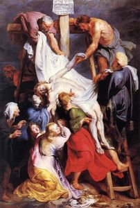 Peter Paul Rubens - `descent` do cruz