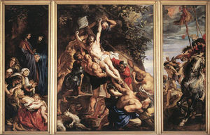 Peter Paul Rubens - a elevation dos O cruz