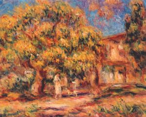Pierre-Auguste Renoir - Lime Tree e Farmhouse
