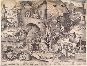 Pieter Bruegel The Elder - Inveja