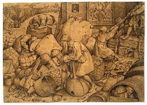Pieter Bruegel The Elder - Filisteu