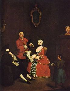 Pietro Longhi - The Masked Visitor