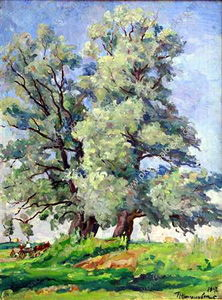 Pyotr Konchalovsky - Willows