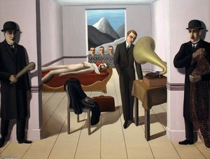 Rene Magritte - o assassino ameaçado