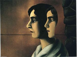 Rene Magritte - distante olha