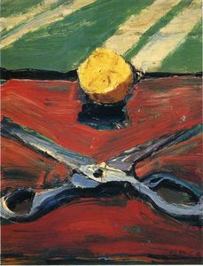 Richard Diebenkorn - tesoura e  Limão