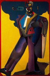 Richard Lindner - O Ator