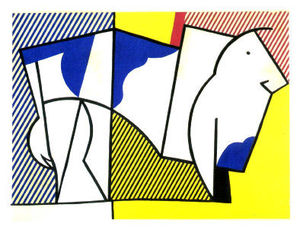 Roy Lichtenstein - Touro III