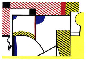 Roy Lichtenstein - Touro VI