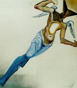 Salvador Dali - surrealista anjo