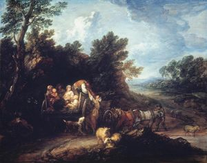 Thomas Gainsborough - O vagão da colheita