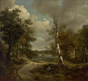Thomas Gainsborough - Drinkstone Park (Cornard Woodland)