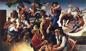 Thomas Hart Benton - Arte do Ocidente