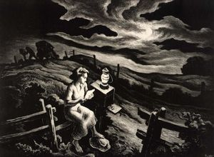 Thomas Hart Benton - Carta do Overseas