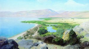 Vasily Dmitrievich Polenov - Sea of ​​Galilee ??