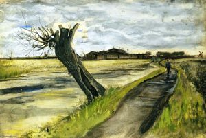 Vincent Van Gogh - Pollard Willow